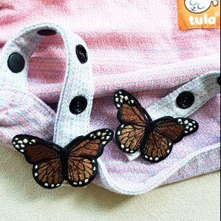 🚚 Monarch Butterfly (Brown) Snap On Charm for Tula Snap On Hoods