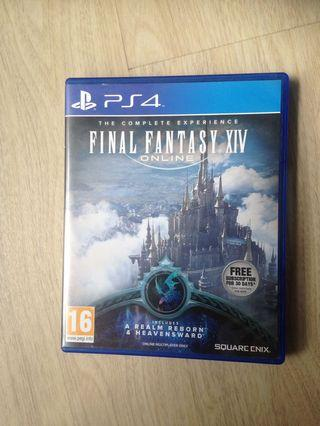 🚚 Final Fantasy Online for PS4