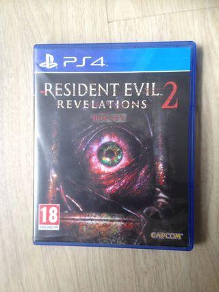 🚚 Resident Evil Revelations 2 for PS4