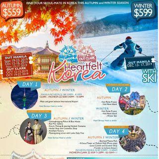 SEOUL, KOREA 4D3N ALL-IN PACKAGE (AUTUMN)