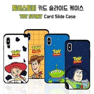 韓國Toy Story 可放卡Case 胡迪 巴斯 三眼仔 翠絲