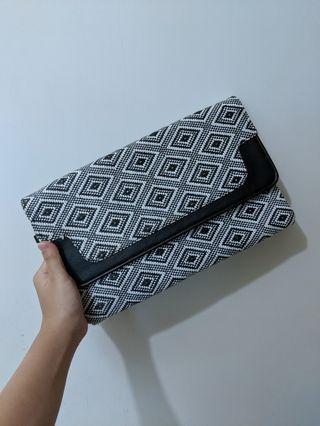 黑白Clutch Black n White Knit