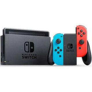 Nintendo Switch (Neon Blue Red)