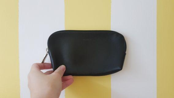 FURLA Leather Cosmetic Pouch