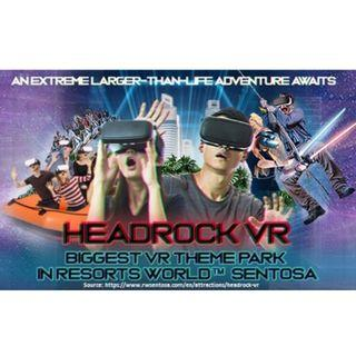 Flash Deal: RWS Sentosa Attraction - HeadRock VR