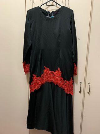 Lace Baju kurung moden