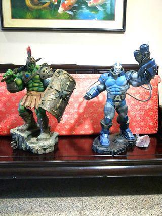WTS/WTT Sideshow Gladiator Hulk & Apocalypse Exclusive
