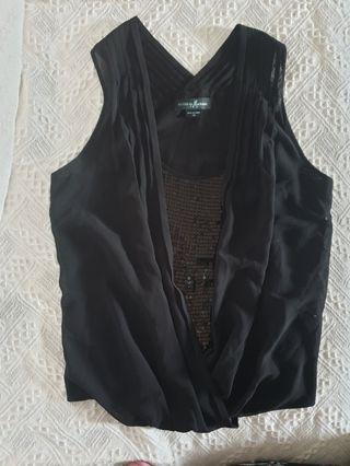 GUESS by Marciano black sleeveless top