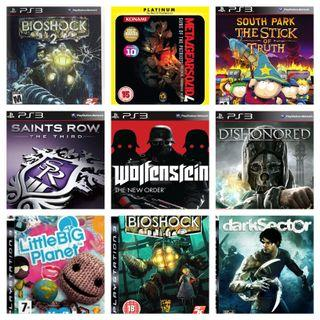 🚚 $7 PS3 Games Sale! Trade, Nego