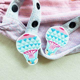 🚚 Pastel Hot Air Balloon Snap On Charm for Tula Snap Hoods