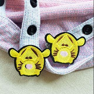 🚚 Tigger/Pooh/Eeyore/Piglet Snap On Charm for Tula Snap Hoods