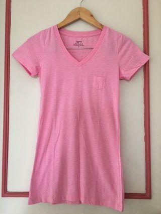 Bench Body soft pink long tshirt