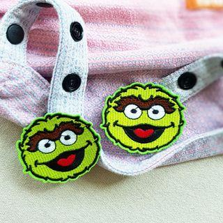 🚚 Grouch (Sesame St) Snap On for Tula Snap Hoods