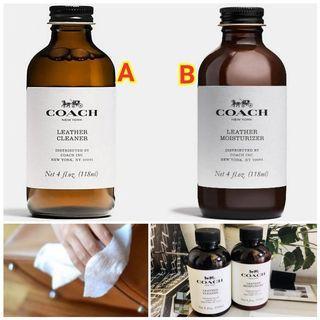 Coach出品皮革護理系列 (清潔液/保養劑)