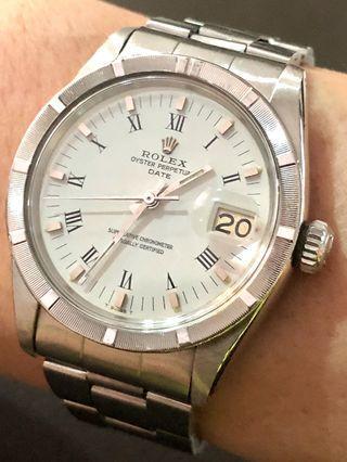 🚚 Beautiful! Rolex Date 1501 (late 60s)