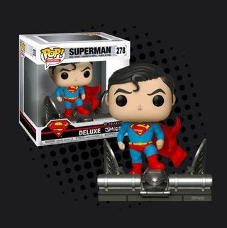 FUNKO POP - SUPERMAN - FOR TOMORROW - SUPERMAN ON GARGOYLE JIM LEE COLLECTION DELUXE