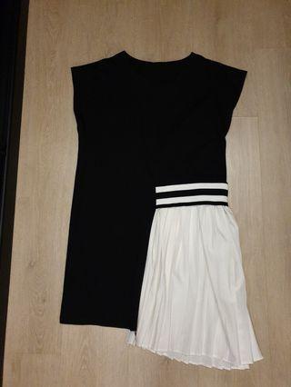 🚚 Misshopper oversize side pleated dress