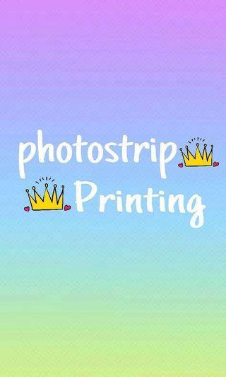 photostrip designing/printing!!