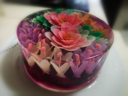 Jelly 3d in Red Dragonfruits