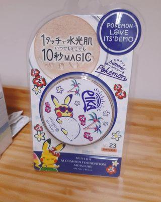 全新 日本正品 Missha x pokemon bb cushion