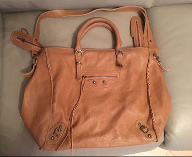 全真皮手袋 Leather bag