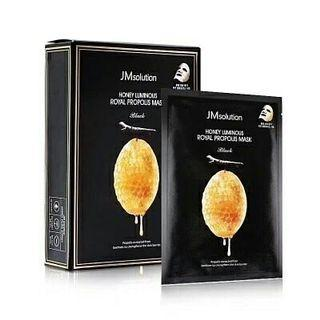 JM Solution - 皇家蜂膠精華 蜂蜜水光面膜 10片/盒