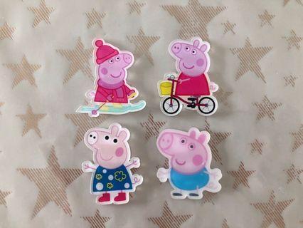 🚚 Peppa Pig Acrylic Resin