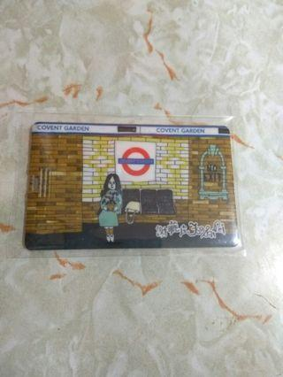 謝曬皮 16GB USB 卡片手指 (地鐵)
