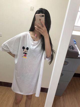 🚚 全新-大尺寸米奇T恤