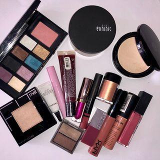 Makeup bundle Chanel, Clinique, Nars, UD etc