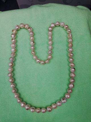 舊珍珠项鍊