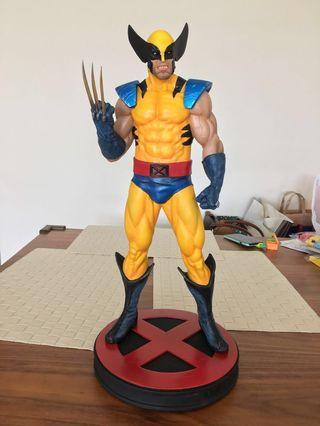 Custom fan art Alvaro Wolverine 1/4 scale statue