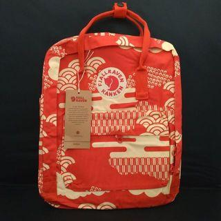 Fjallraven Kanken Art Red Wives Backpack