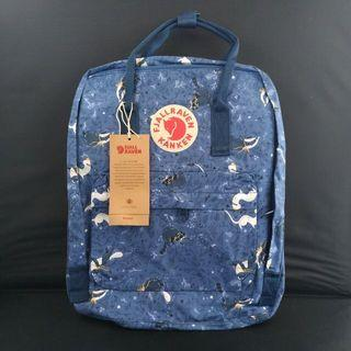 Fjallraven Kanken Art Blue Fable Backpack