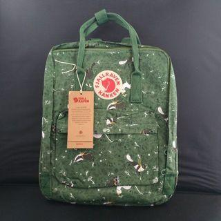 Fjallraven Kanken Art Green Fable Backpack