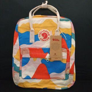 Fjallraven Kanken Art Spring Landscape Backpack