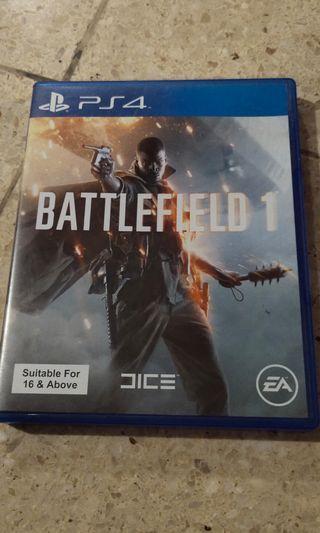 Kaset PS4 battlefield1