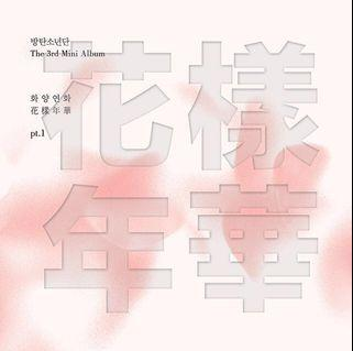 BTS The most beautiful moment in life pt.1 Pink Ver 防弹少年团 花样年华 pt.1