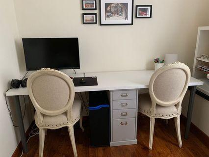 IKEA spacious Study table for 2 people