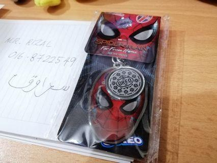 SPIDER-MAN FAR FROM HOME Original Keychain Avengers