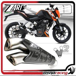 Zard Exhaust pipe suitable on all Ktm bikes