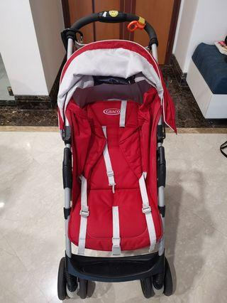 Graco Literider Click Connect stroller with car seat attachment