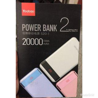 原裝 Yoobao power bank 充電寶