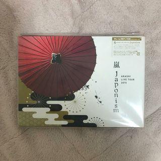 嵐🌀ARASHI LIVE TOUR Japonism日本主義【DVD初回】[blue ray初回]