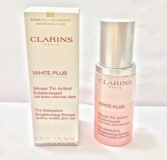 全新Clarins White Plus Tri-Intensive Brightening Serum 透白光感系列三重透白光感精華 30ml