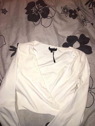 White tight top