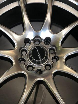 Work Emotions 17inch rims pcd 5x100 and 5 x 114.3 URGENT SALE