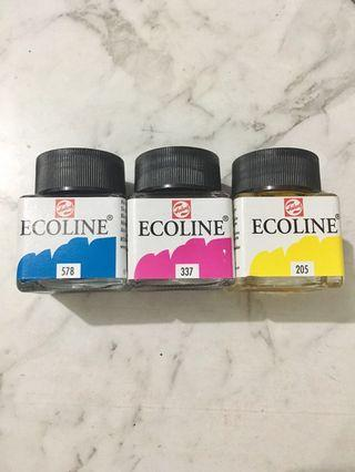 Ecoline Watercolours Liquid New art supplies