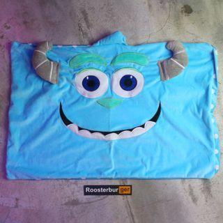 「Monster University Disney Sulley 怪獸大學 毛怪 枕套 40x60@公雞漢堡