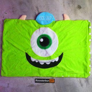 「Monster University Disney Pixar 怪獸大學 大眼仔 枕頭套 40x60cm @公雞漢堡」